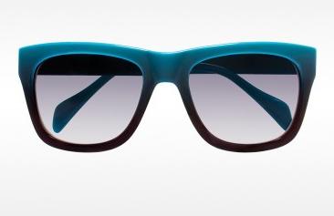 Derek Lam Turquoise Ripley Sunglasses
