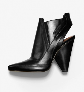 Derek Lam Black Leather Tate Ankle Boots