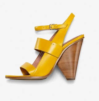 Derek Lam Sun Leather Bijou Sandals
