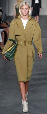 Derek Lam Cavalry Cotton Trench Coat