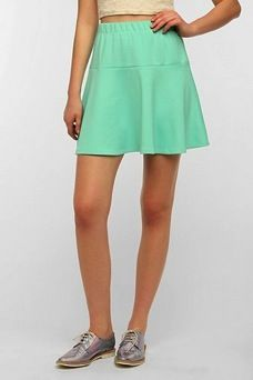 Sparkle & Fade  Drop-Waist Scuba Skirt