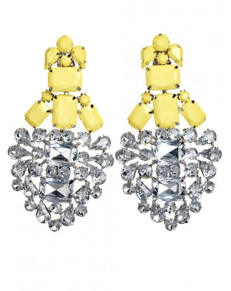 By Malene Birger  Basilo Rhinestone Earrings