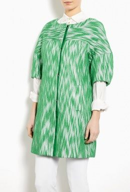 Milly  Bianca Printed Day Coat