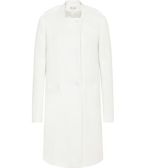 Reiss  Finlee Gathered Back Coat