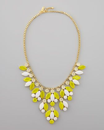 Kate Spade New York  Crystal-Bib Necklace
