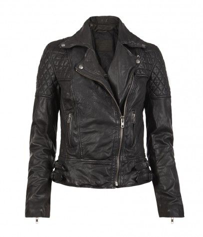 AllSaints  Walker Leather Biker Jacket