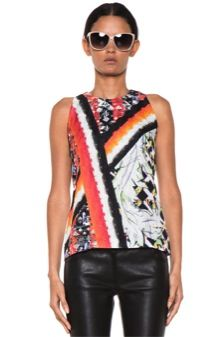 Peter Pilotto  Peter Pilotto Stamp Top in Gio Leaf