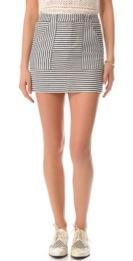 Madewell  Madewell Pizete Striped Skirt