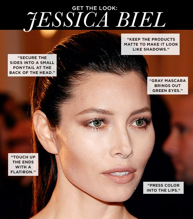 Jessica Biel's Master Contouring