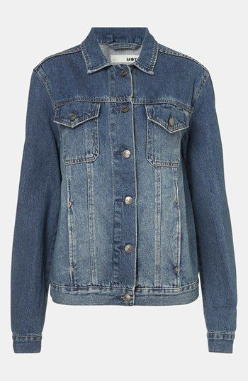 Topshop  Sylvie Oversized Denim Jacket