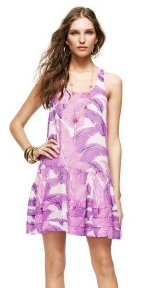 Juicy Couture  Tank Palmetto Print Dress
