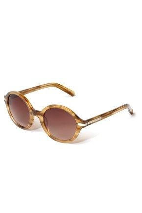 French Connection Honey Round Sunglasses