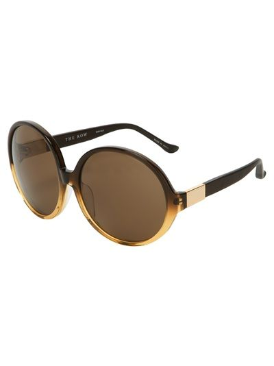 The Row Two-Tone Sunglasses
