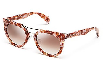 Prada Rounded Cat Eye Sunglasses
