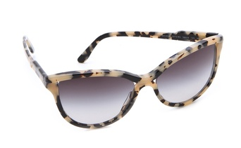 Stella McCartney Rounded Cat Eye Sunglasses