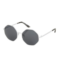Topshop Hexagon Rimless Sunglasses