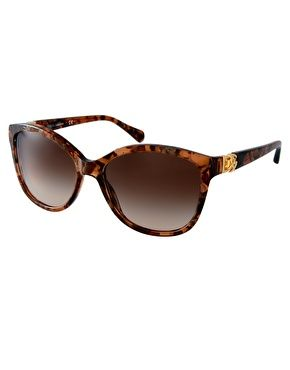 Dolce & Gabbana Brown Marble Sunglasses