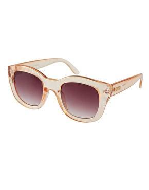 Le Specs D Frame Sunglasses