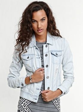 Pacsun  Bullhead Super Destroy Denim Jacket