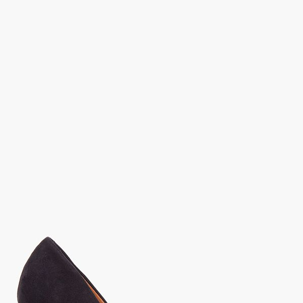 Givenchy  Black Suede Zip Heels