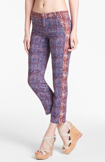 Ella Moss  Dixon Paisley Crop Pants