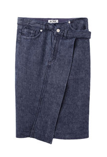 Acne Studios Ophelia Denim Skirt
