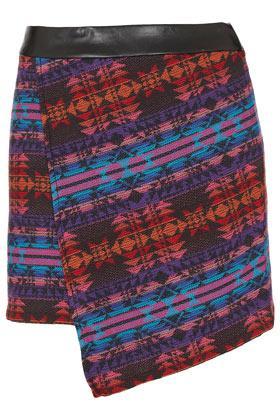 Topshop Moroccan Wrap Pelmet Skirt