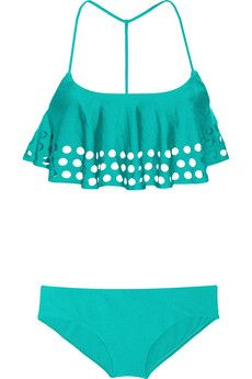 Zimmermann  Clique Perforated Tankini