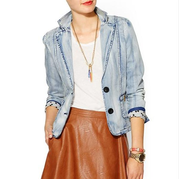 Numph  Bob Denim Blazer