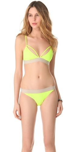 Cheap Monday  X Strap Bikini Top and Bottom