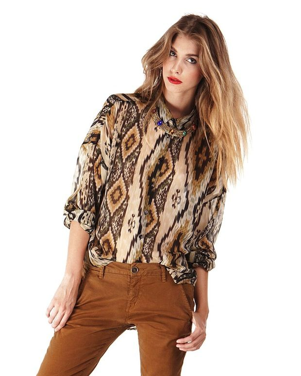 RD Style Long Sleeve Blouse