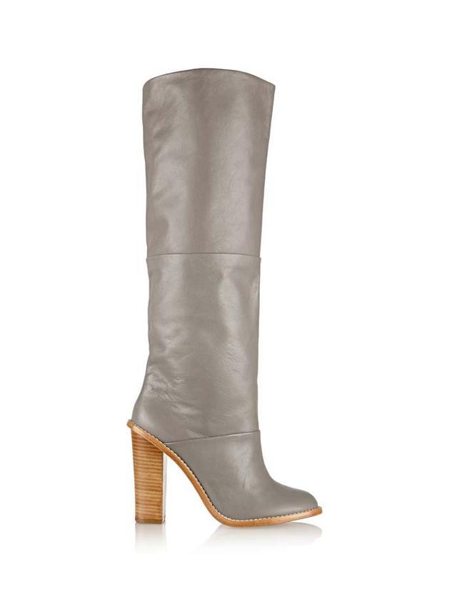 Tibi Vlada Leather Knee Boots