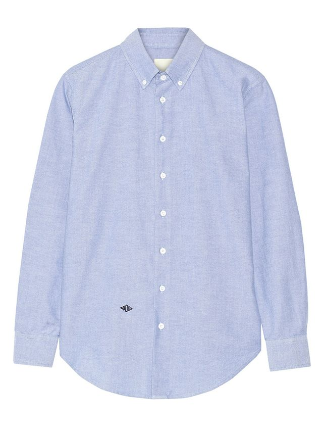 Band of Outsiders Band of Outsiders Cotton Oxford Boyfriend Shirt