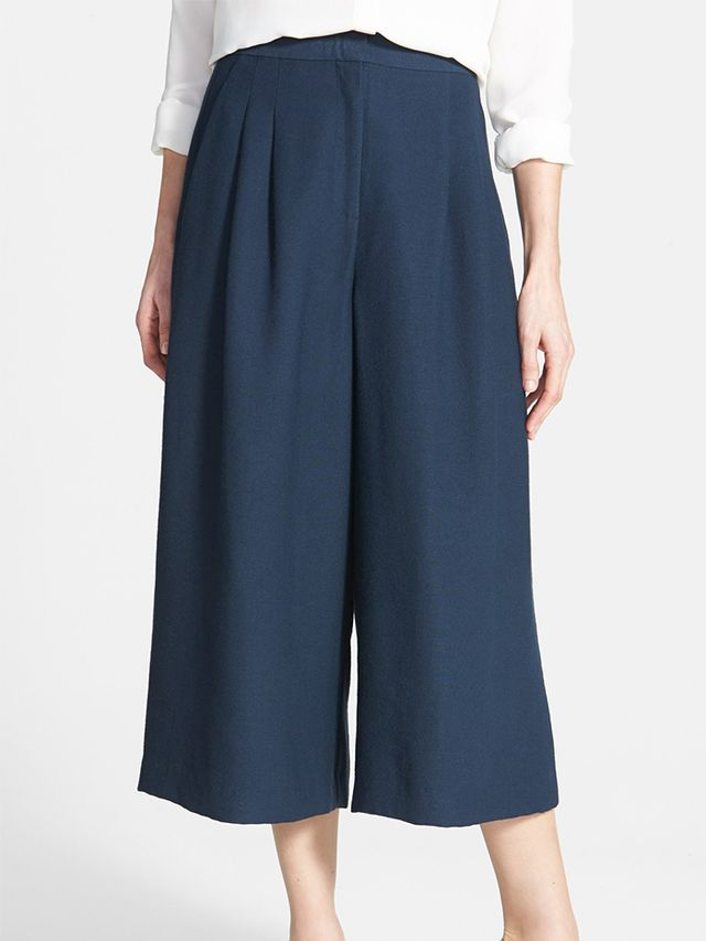 Chelsea28 Pleated Culottes