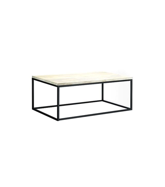West Elm Box Frame Coffee Table