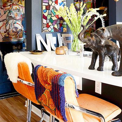 Home Tour: Erica Reitman's Boho Apartment