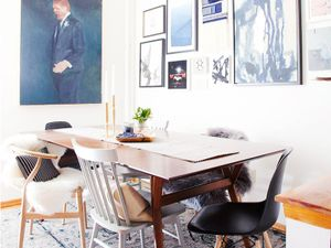 Get the Look: An Eclectic Indigo Dining Room