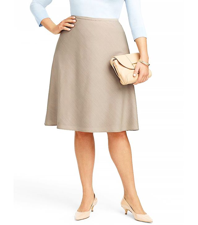 Talbots Seasonless Wool A-Line Skirt