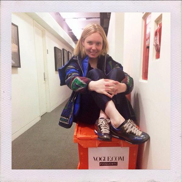 Jorden Bickham, Vogue.com Executive Fashion Editor