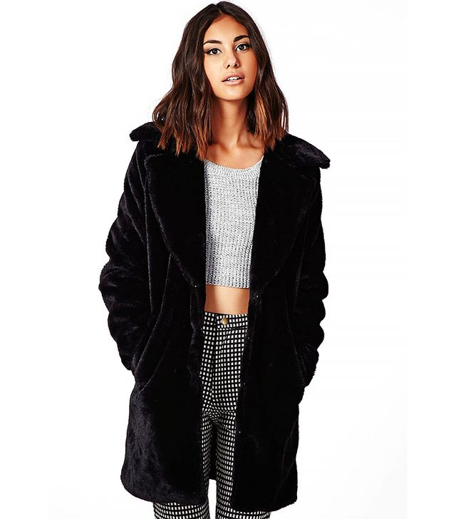 Missguided Ana Faux Fur Jacket