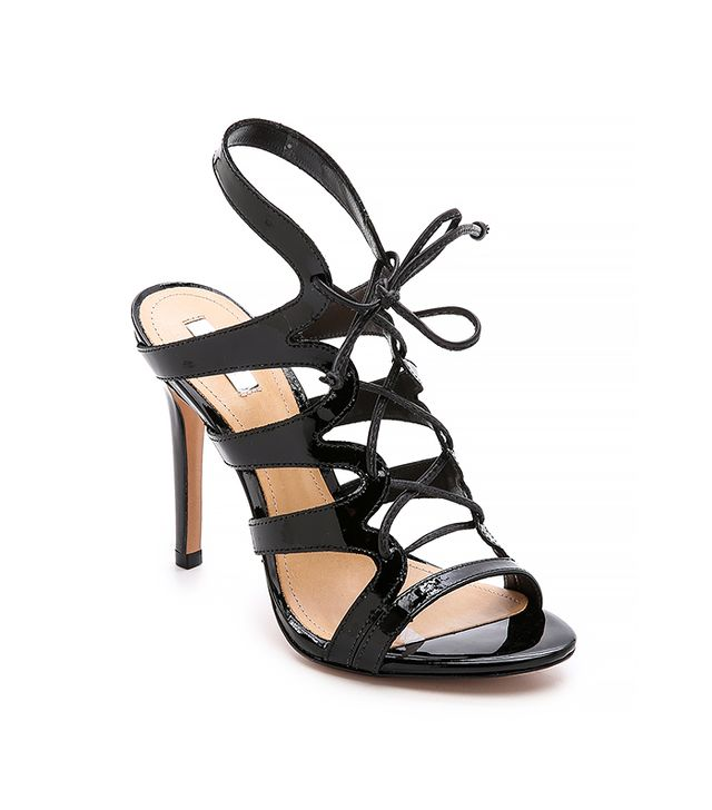 Schutz Dubiana Lace Up Sandals