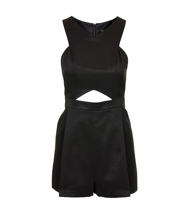 Topshop Cut-Out Playsuit