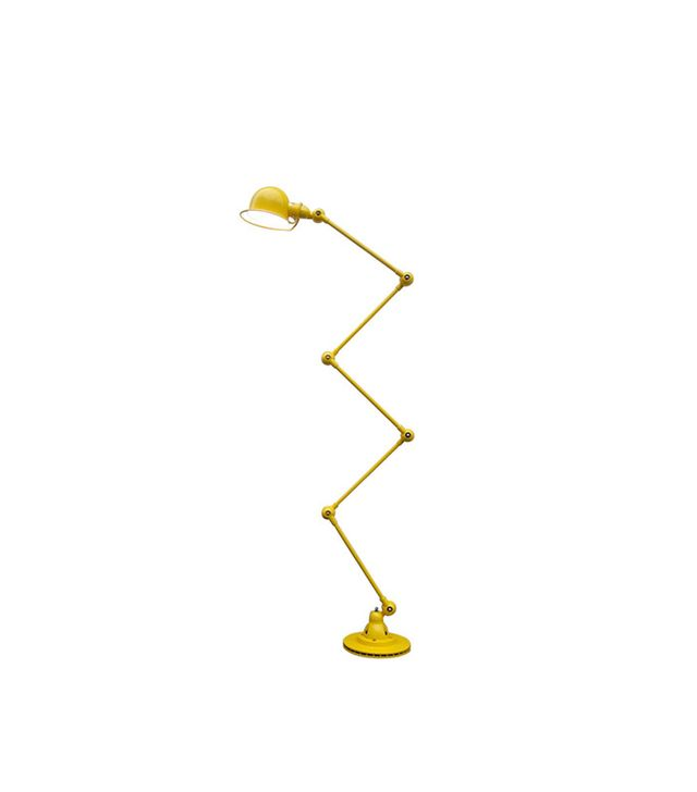 1stdibs 5-armed Jielde Floor Desk Reading Lamp Yellow