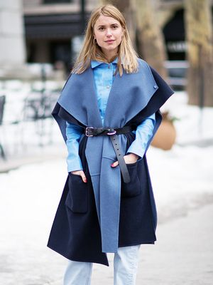 Pernille Teisbaek Shows Us How to Mix Our Blacks and Blues