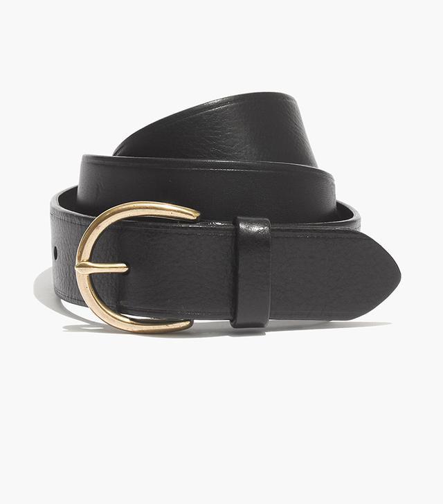 Madewell Medium Perfect Leather Belt