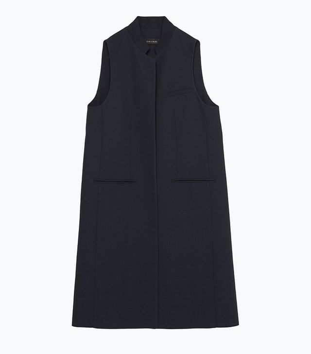 Zara Long Tailored Waistcoat