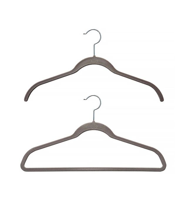 The Container Store Platinum Huggable Hangers