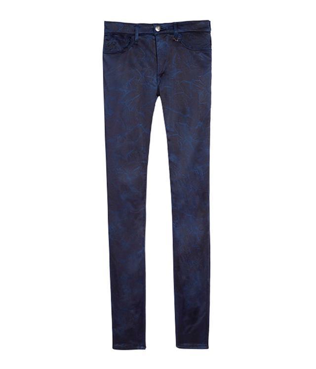 Joan Smalls x True Religion Blue Skinny Jeans