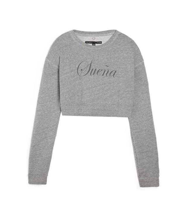 Joan Smalls x True Religion Cropped Sweatshirt