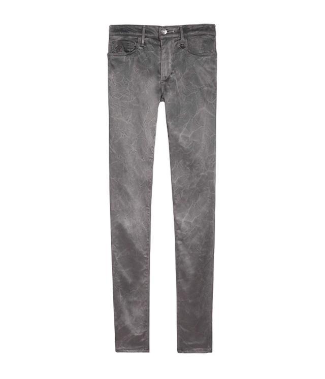 Joan Smalls x True Religion Charcoal Skinny Jeans